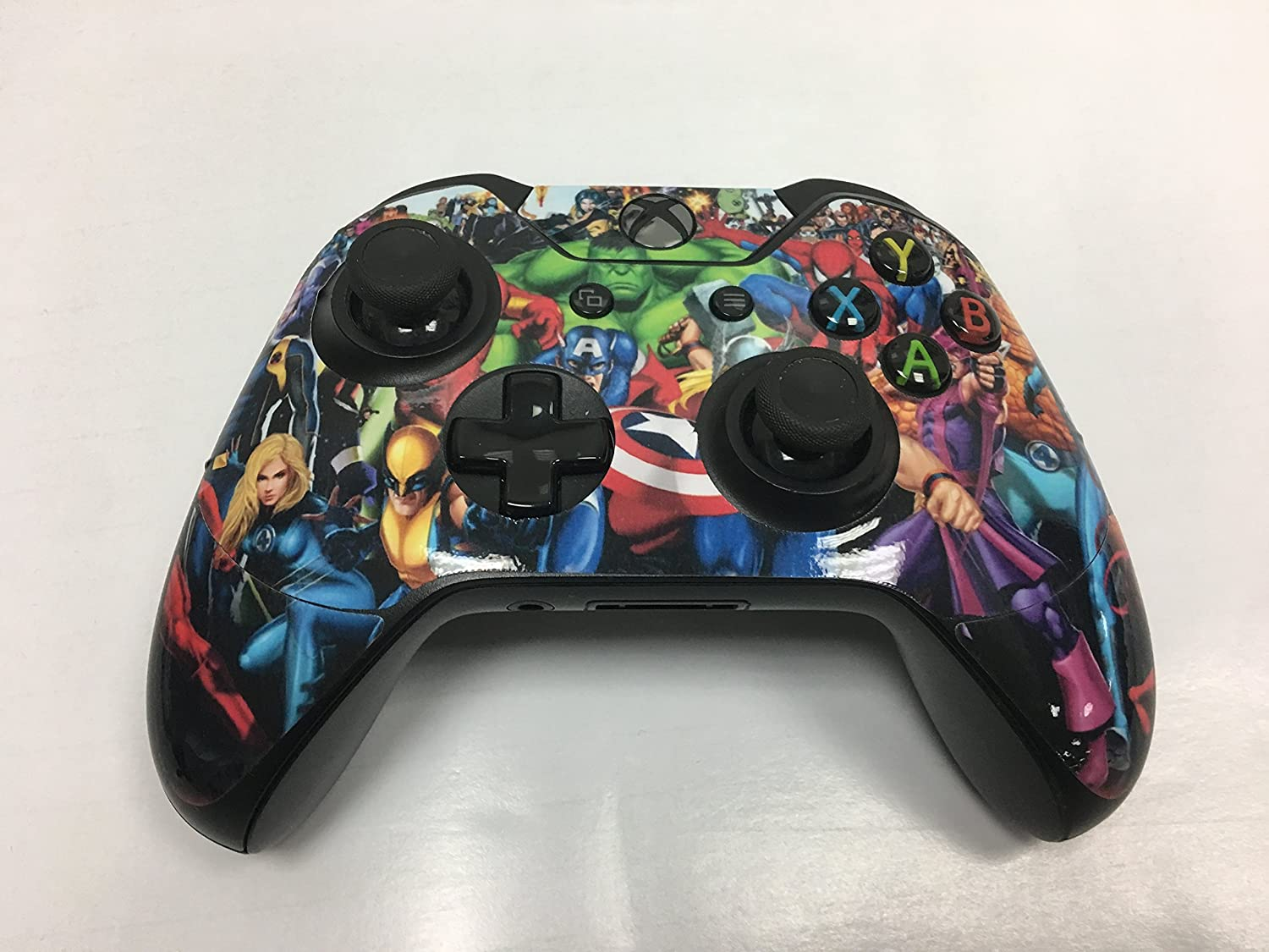 giZmoZ n gadgetZ 2 x Spider Controller Skins Full Wrap Vinyl Sticker compatible with Xbox One//S//X