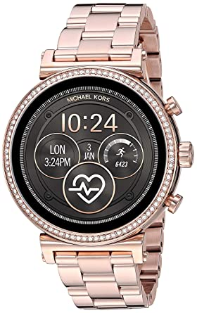 Michael Kors Access Sofie Heart Rate Smartwatch- Powered with Wear ...
