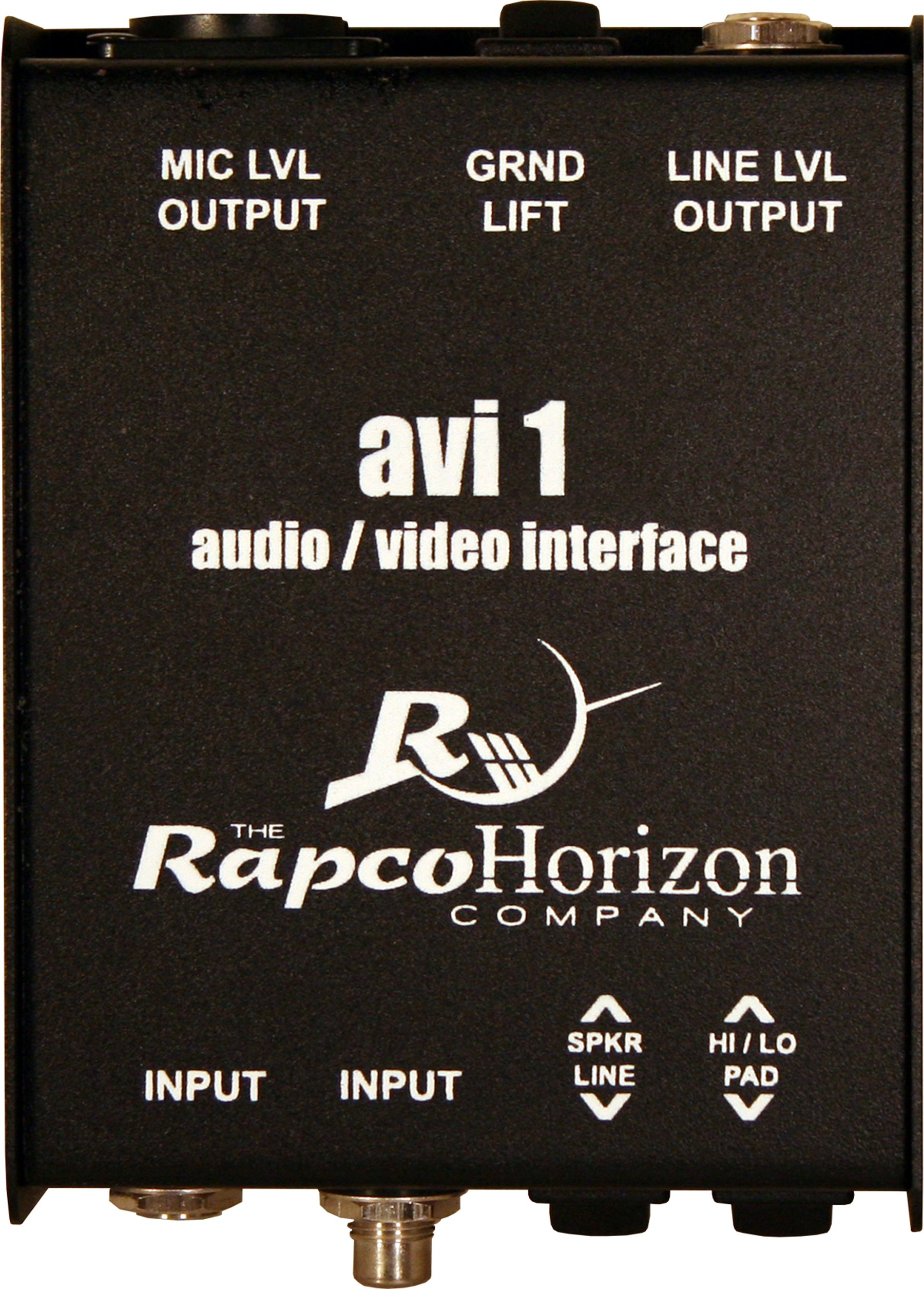 Rapco Horizon AVI-1 Audio/Video Passive Interface Signal Converter