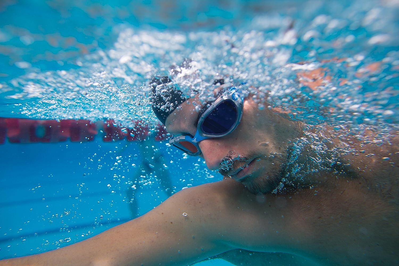 Zoggs Predator Flex Mirror Gafas de Natación, Hombre, Plata/Azul, Única: Amazon.es: Deportes y aire libre