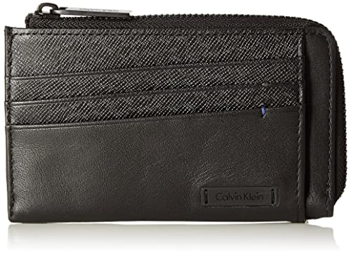 Calvin Klein - Adam Cardholder With Zip, Fundas de carnés ...