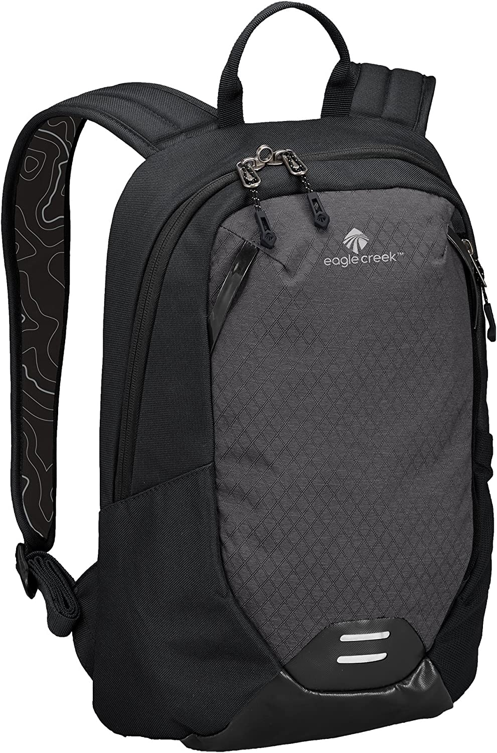 Eagle Creek Unisex Travel Laptop Backpack-multiuse-Hidden Tech Pocket, Black/Charcoal, One Size