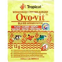 Ração Para Peixes Ovo-Vit 12g Sachê Tropical Tropical Para Peixes