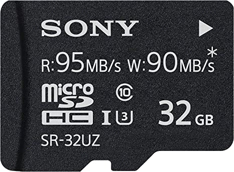 Sony High Speed Micro SD Memory Card, 32GB (SR-32UZA/T)