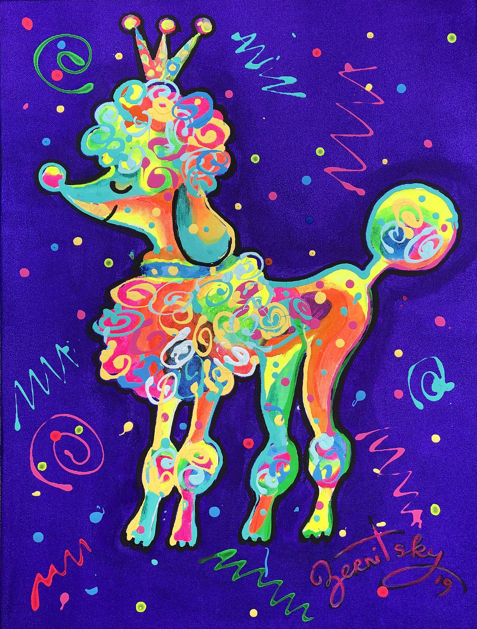 Poodle - Cute and Classy by