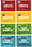 Four Sigmatic Mushroom Elixir Sampler Pack of 8-2 Packets of Each Mix