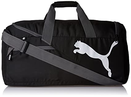 fa34b70d60 Image Unavailable. Image not available for. Colour  Puma Polyester 24 Inch  Black Travel Duffle ...