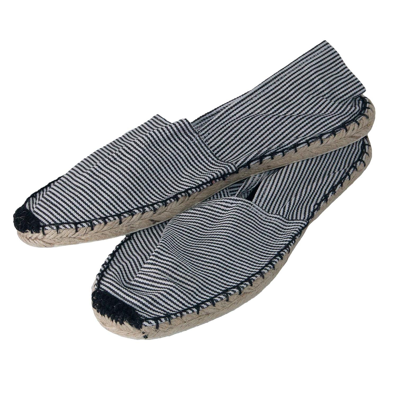 a0fd292a43c861 Japanwelt Espadrilles Classic Stripes Canvas Damen und Herren  Sommerlatschen Streifen Muster viele Farben  Amazon.de  Schuhe   Handtaschen