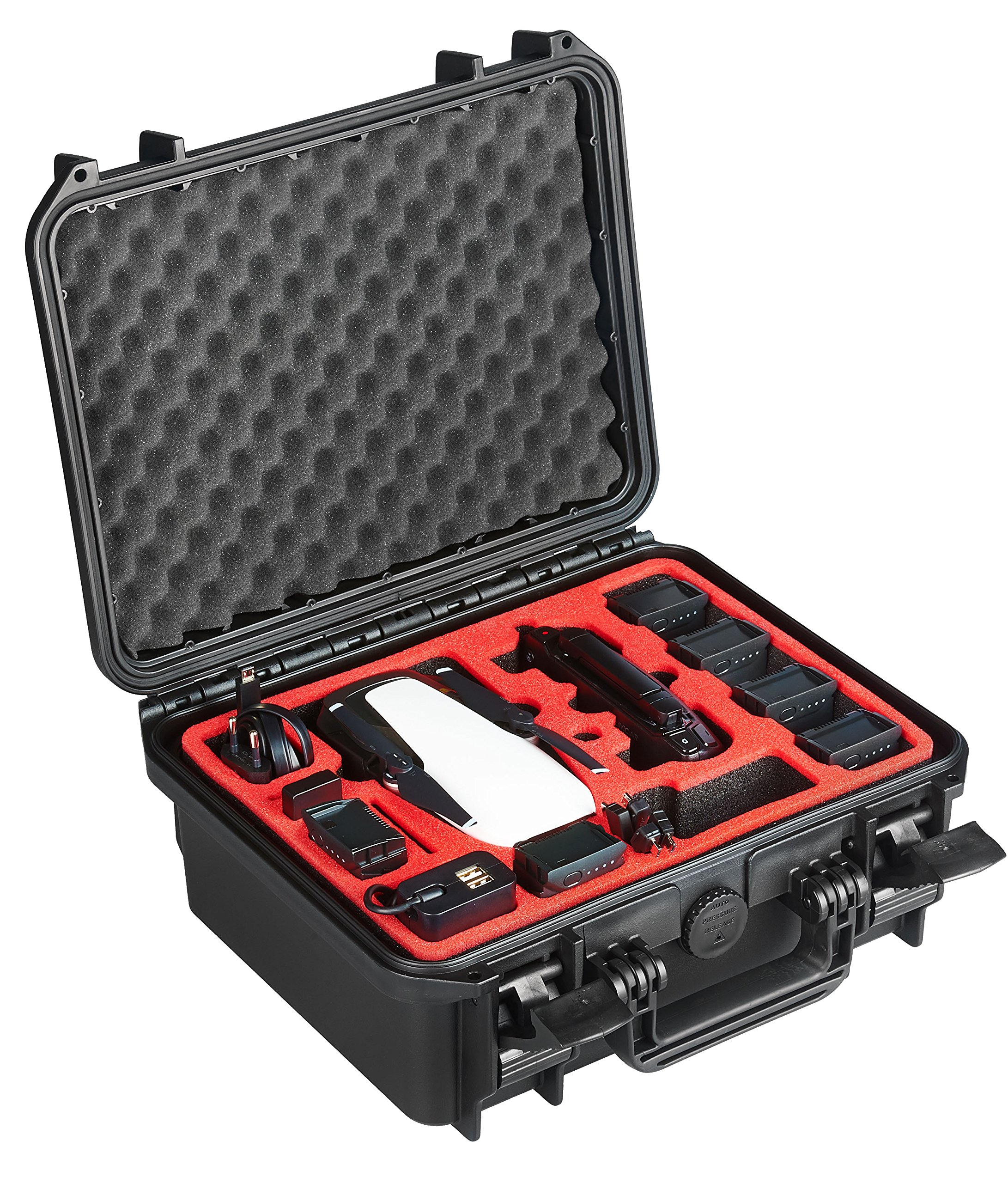 Professional Carry Case for DJI Mavic AIR - Made in Germany - by MC-CASES (Explorer Edition for DJI Mavic Air) by mc-cases (Image #2)