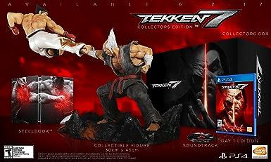 Amazon Com Tekken 7 Collector S Edition Playstation 4 Collector S Edition Video Games