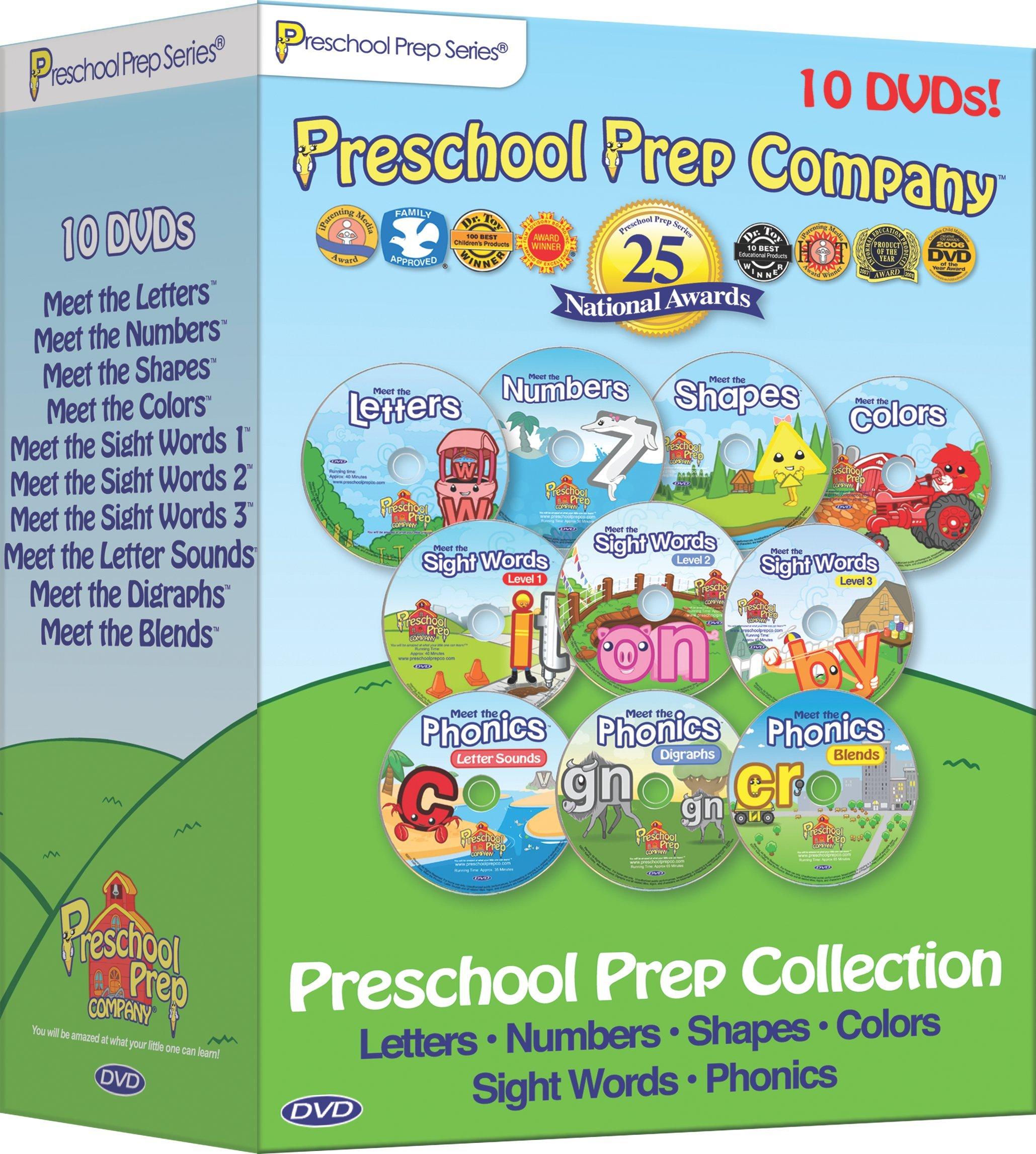 Preschool Prep Series Collection - 10 DVD Boxed Set (Meet the ...