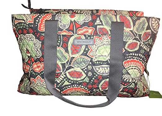de9754d0e97 Amazon.com   Vera Bradley Triple Compartment Travel Bag, Nomadic ...