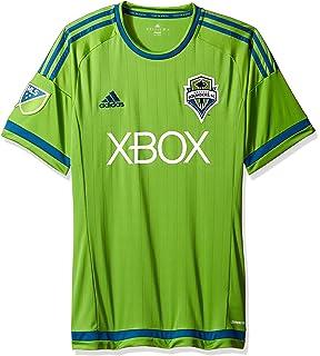 sports shoes 6250e 2bfef Amazon.com : adidas MLS Seattle Sounders FC Men's Replica ...