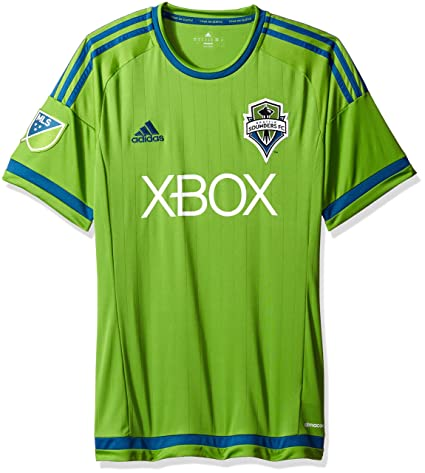 buy popular 42f1b 55ddb adidas MLS Seattle Sounders Home Jersey [Green]