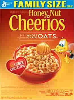 Amazon Com Honey Nut Cheerios Cereal 21 6 Ounce Pack Of 2