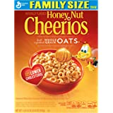 Honey Nut Cheerios Cereal, 21.6 Ounce (Pack of 3)