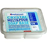 Stephenson Kosher Goat's Milk Melt and Pour Soap Base, 2-Pound