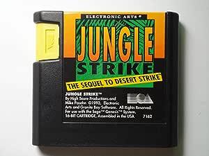 Jungle Strike - Sega Genesis