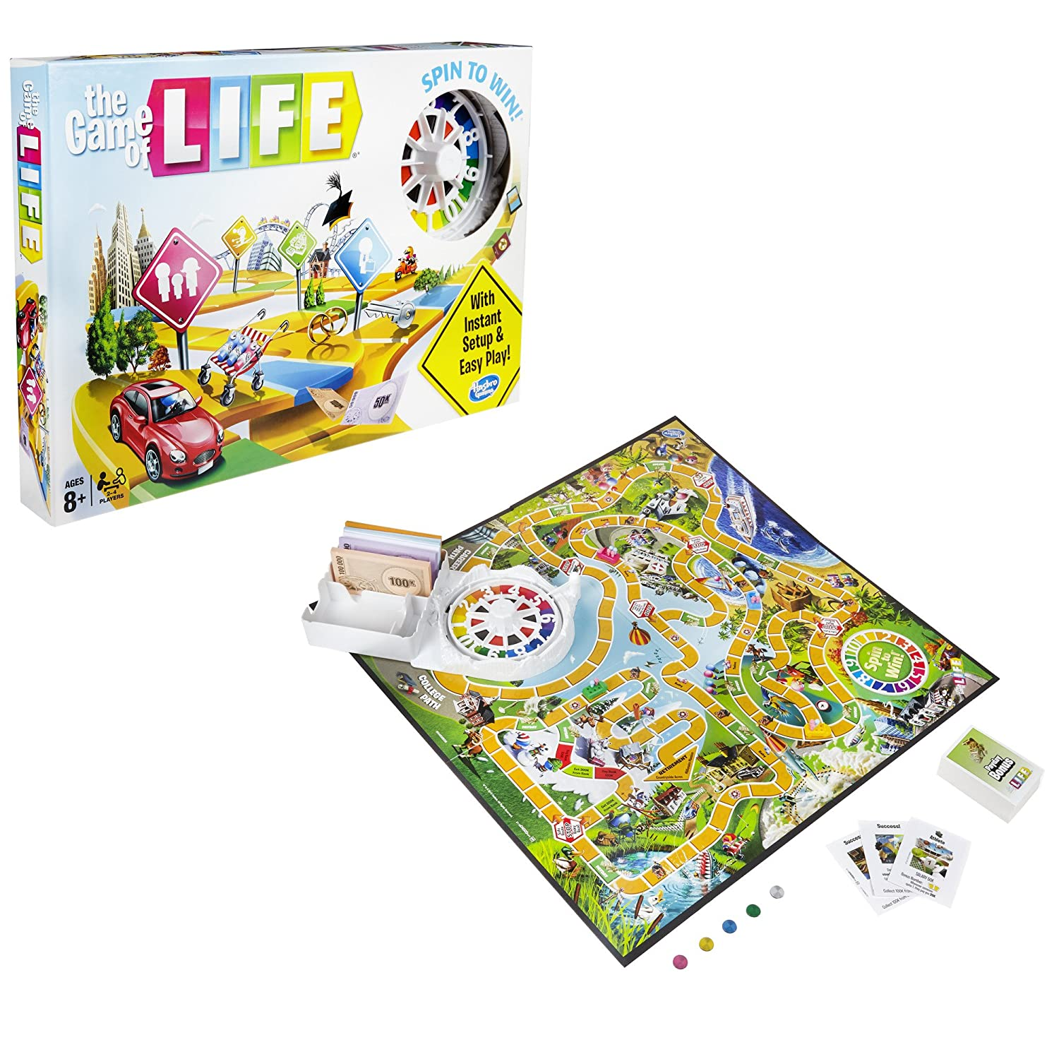 Amazon Hasbro The Game Of Life Game Toys Games