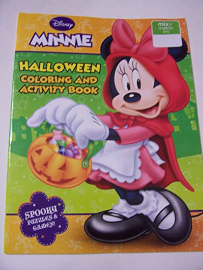 - Amazon.com: Disney Minnie Mouse Bow-tique Holiday Coloring & Activity Book  ~ Halloween (Trick Or Treat With Minnie): Toys & Games