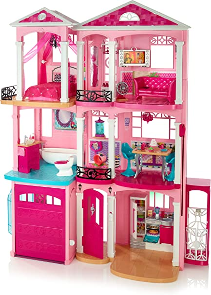 20 FREE SHIPPING !! Barbie Camping Fun Playset Fully Furnished Cabin Pieces