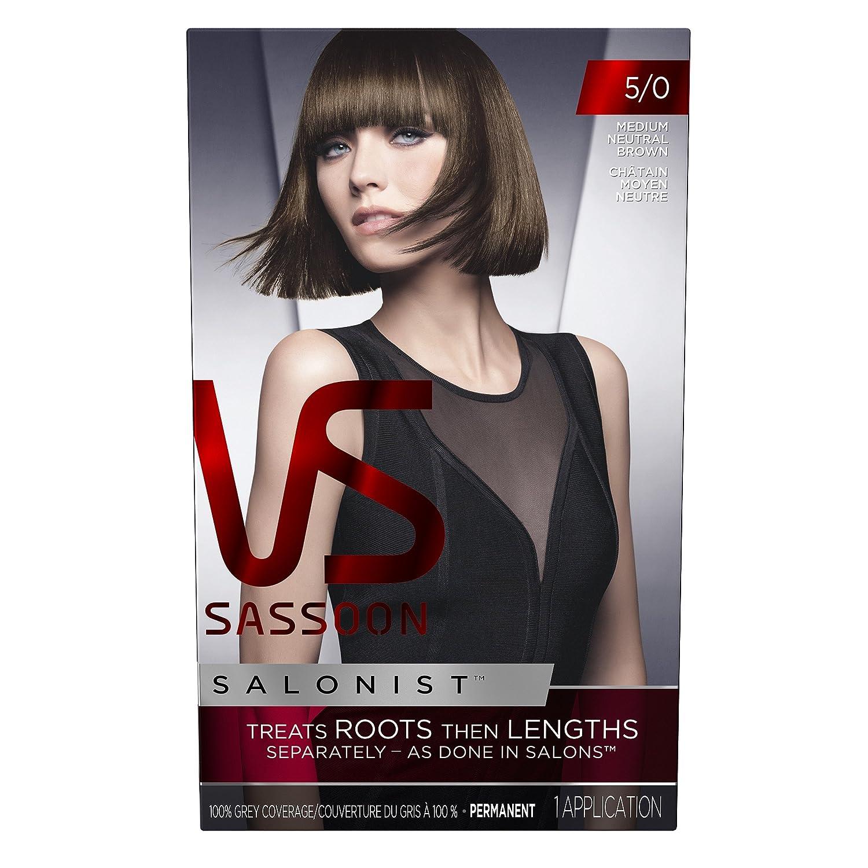 Amazon Vidal Sassoon Salonist Hair Colour Permanent Color Kit