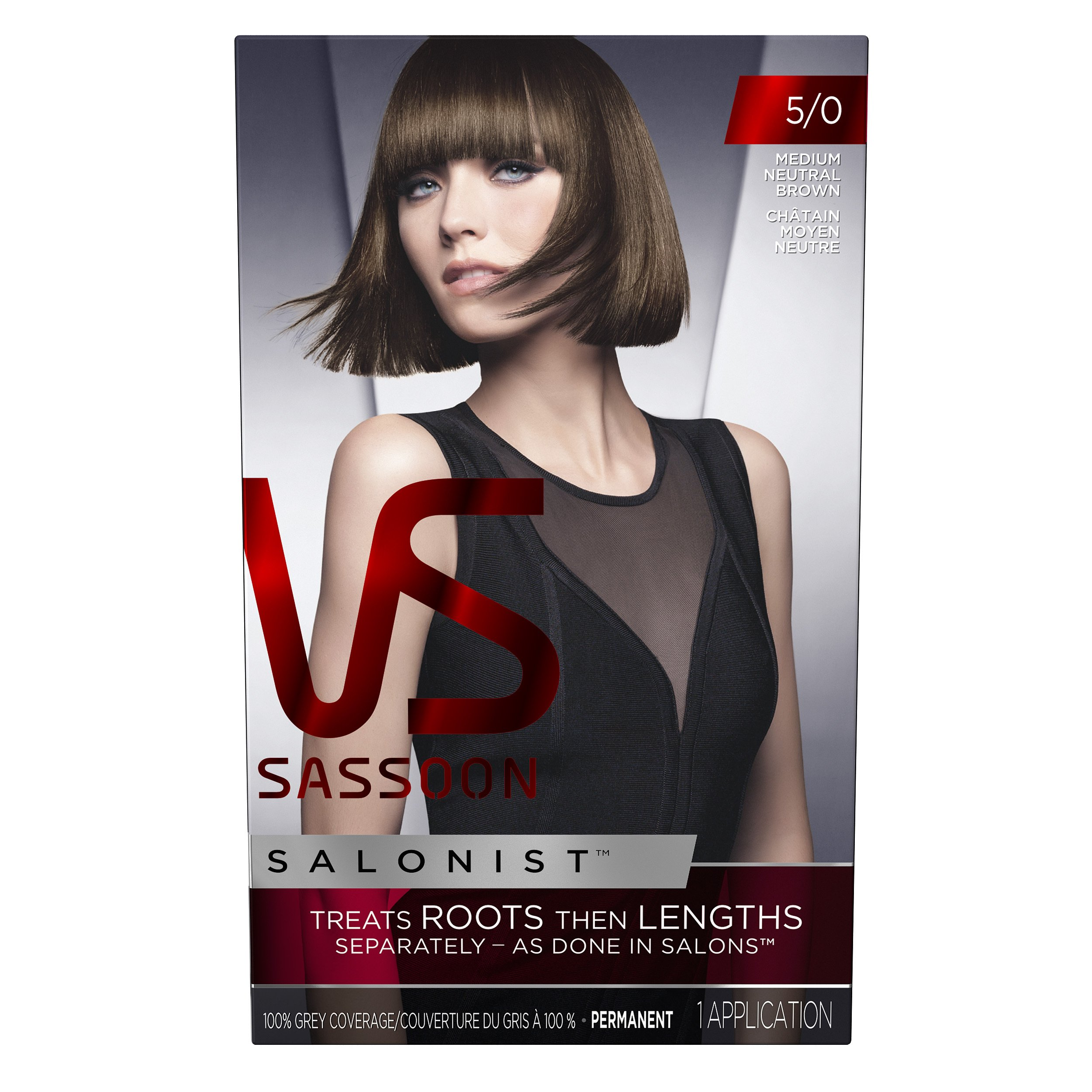 Amazon.com: Vidal Sassoon Salonist Hair Colour Permanent Color Kit ...