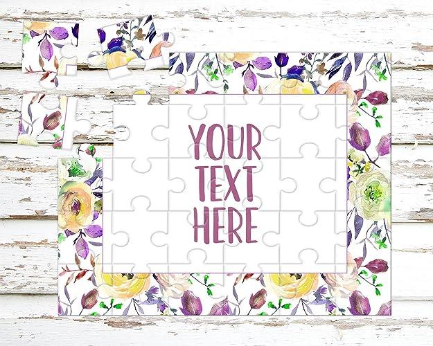 amazon com create your own puzzle pregnancy announcement custom