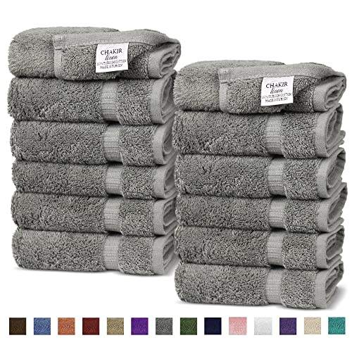 Chakir Turkish Linens Cotton Luxury Hotel Spa Bath Towel Wash Cloth