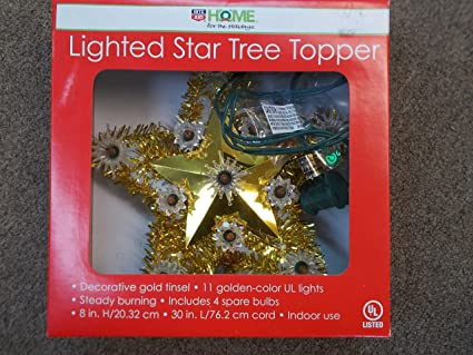 rite aid lighted star tree topper