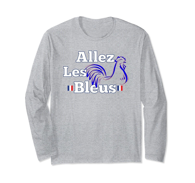Allez Les Bleus France Football Shirt for Men and Women-ln