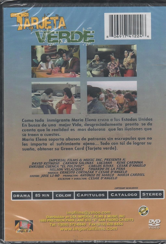 Amazon.com: Tarjeta Verde [David Reynoso & Carmen Salinas ...