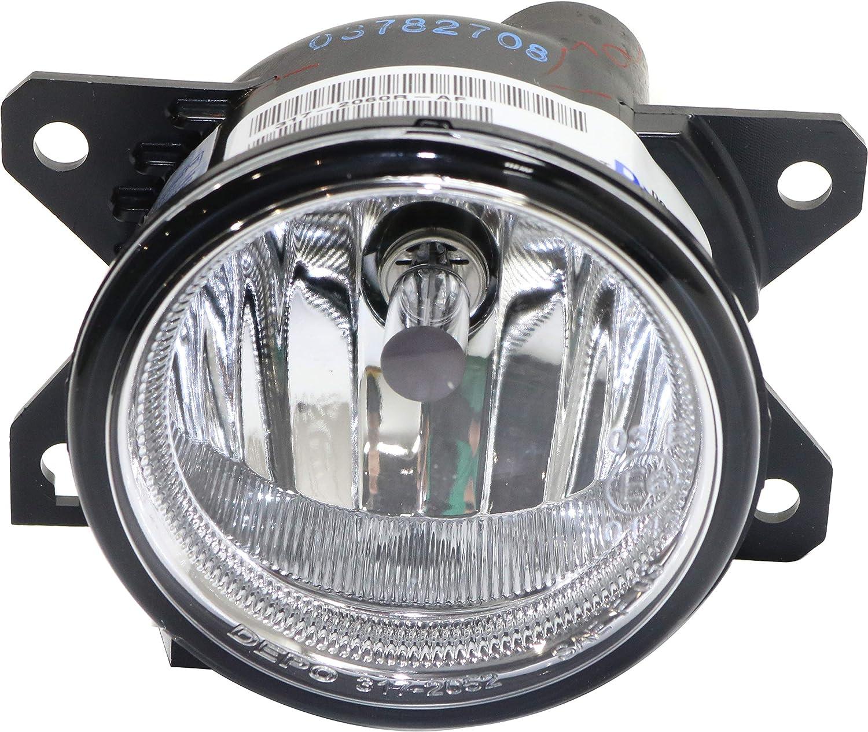 Front Outer Mesh Grille Fog Light Cover Pair LH /& RH Sides for Honda Civic Sedan