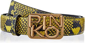 Pinko Lovelink Small Crumpled Belt P Cinturn para Mujer