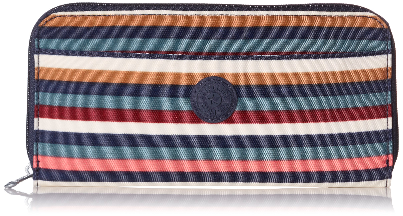 Kipling TRAVEL DOC Passport Wallet, 22 cm, 0.01 liters, Multicolour (Multi Stripes)