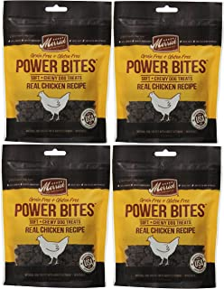 product image for Merrick CHICKEN POWER BITES MADE IN USA 4 PACK 24 Ounces Total DOG TREATS TRAINING
