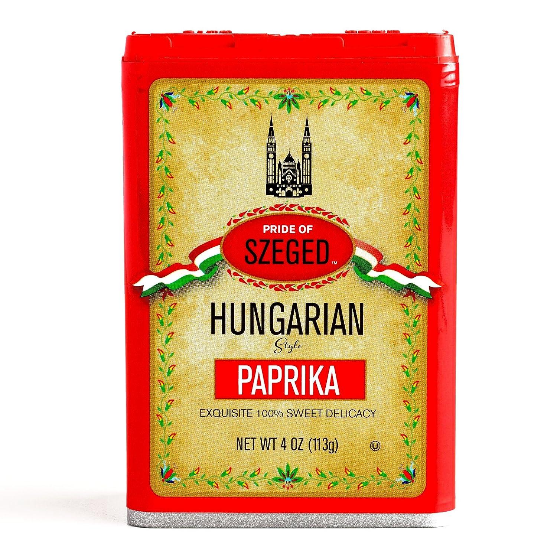 Szeged Sweet Paprika 4 oz each (1 Item Per Order)
