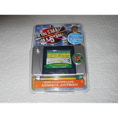 Techno Source Are You Smarter than a 5th Grader - Illuminated Touch Screen Game: Toys & Games [5Bkhe1802120]