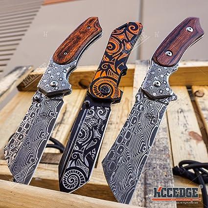 Amazon.com: Buckshot – Juego de cuchillos de carnicero Combo ...