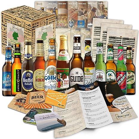 12 especialidades de cervezas de Alemania (Las mejores cervezas alemanas) como un paquete de probar para