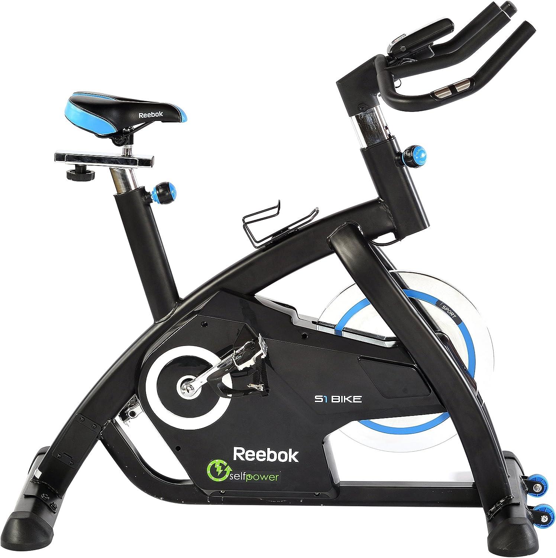 Reebok Bicicleta S1 Indoor Bike Negro/Azul: Amazon.es: Deportes y aire libre
