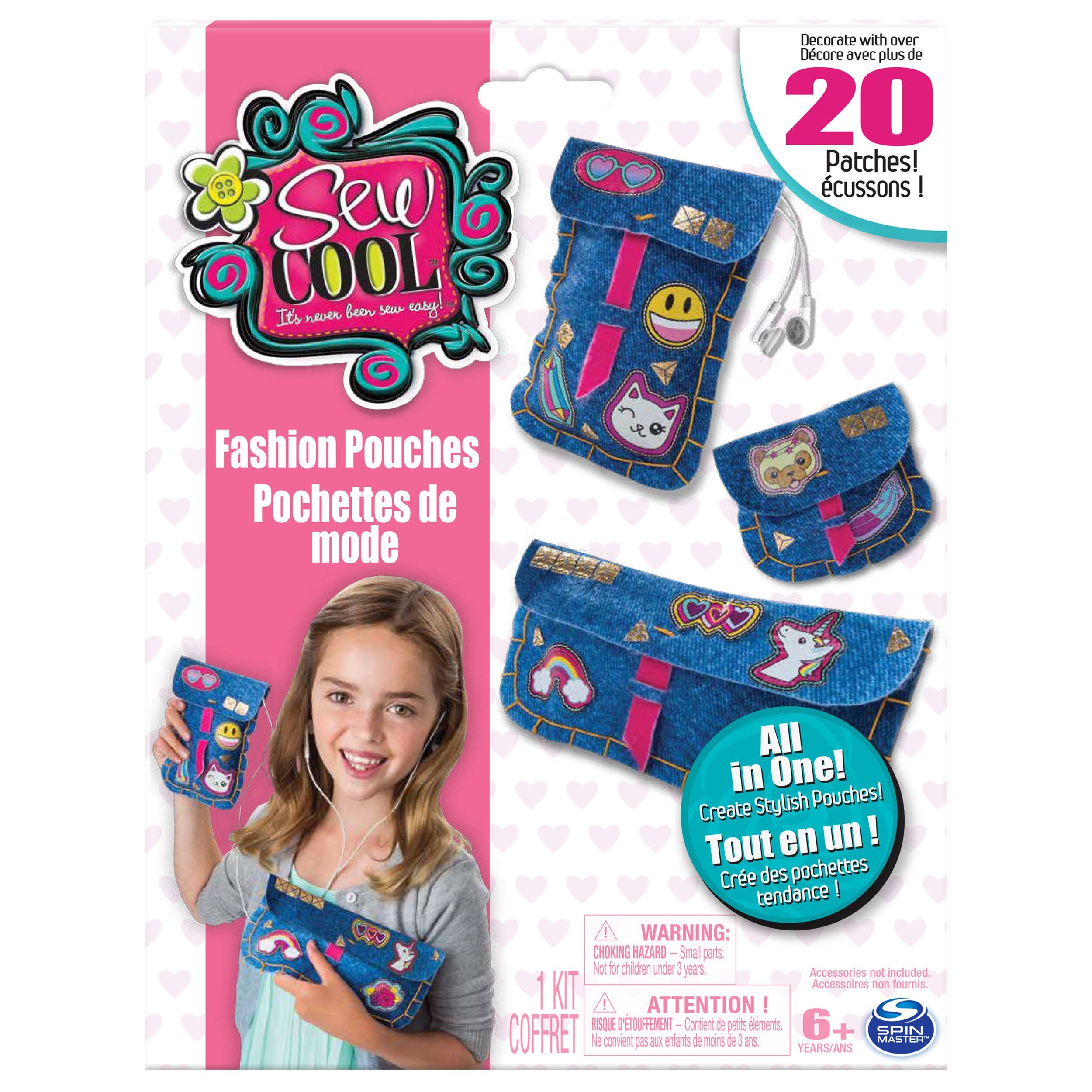 Sew Cool Fashion Pouches - All-in-One Kit