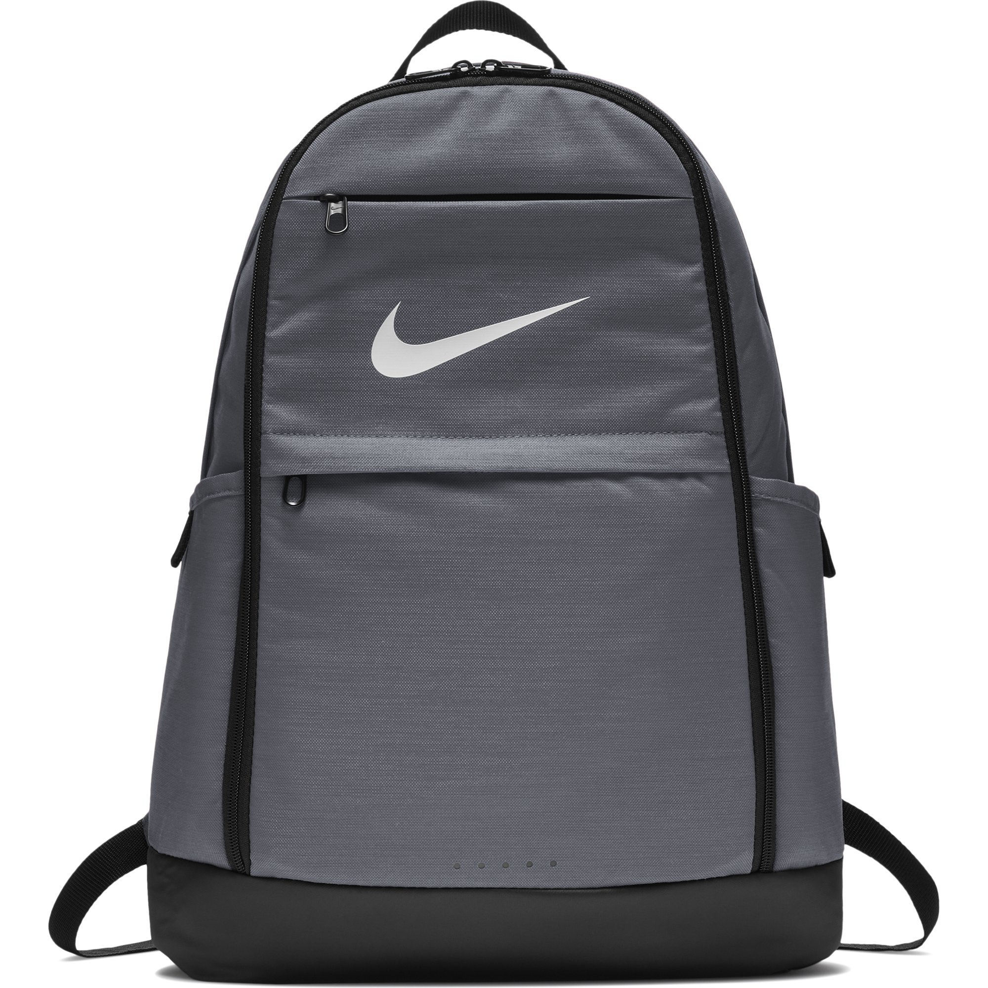Nike Brasilia Training Backpack, Extra Large Backpack Built for Secure Storage with a Durable Design, Flint Grey/Black/White by Nike