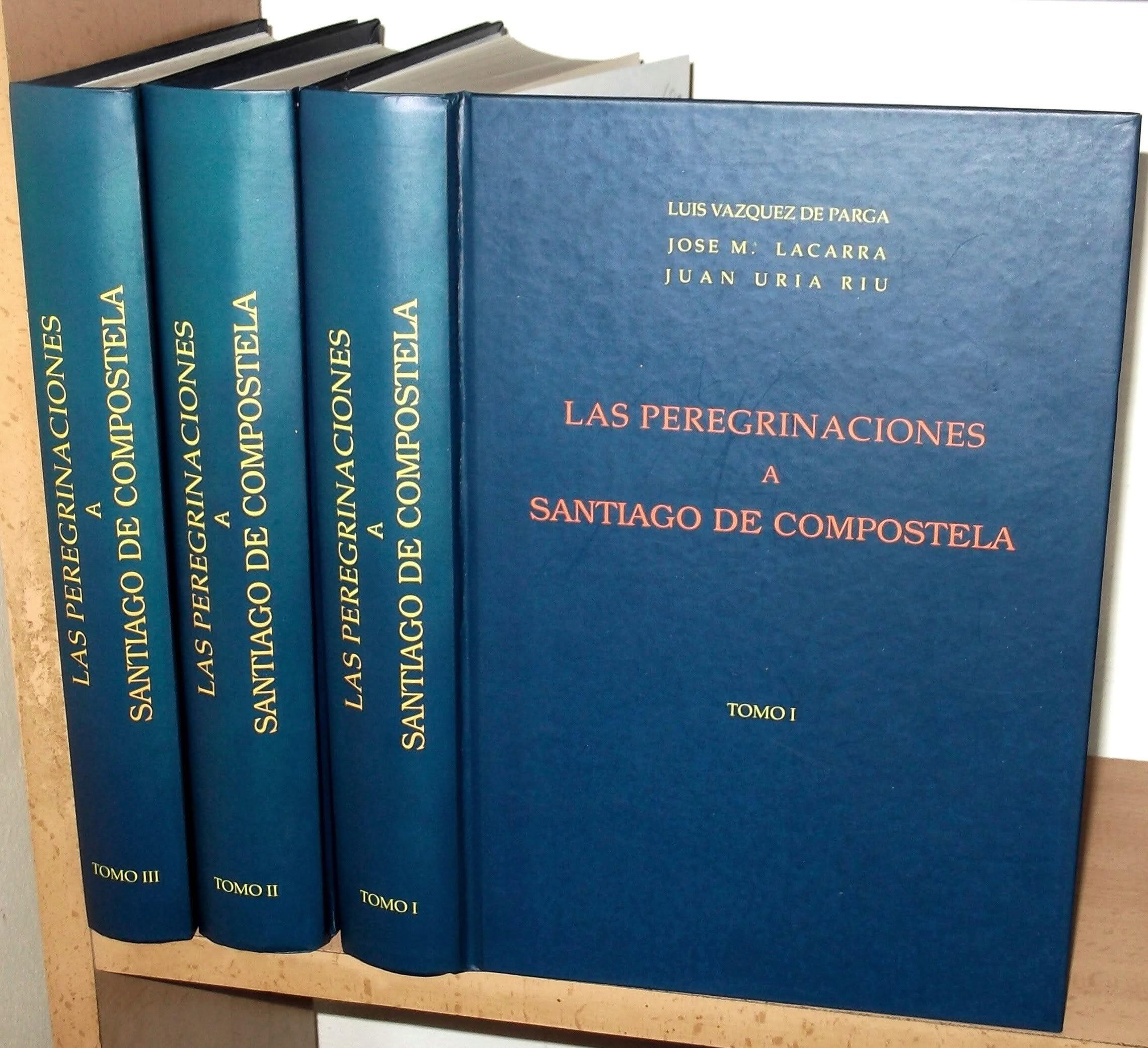 LAS PEREGRINACIONES A SANTIAGO DE COMPOSTELA 3 TOMOS: Amazon ...
