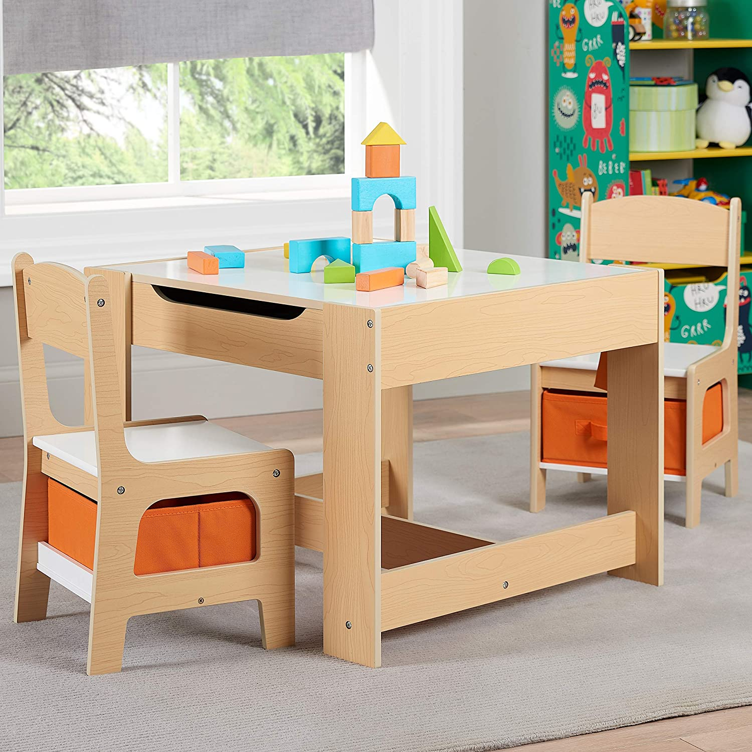 Remarkable Amazon Com Unique Sturdy Smartly Crafted Kids Wooden Pabps2019 Chair Design Images Pabps2019Com