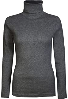 5c2c2ae8fe3 Brody & Co. Womens Roll Necks Ladies Polo Neck Tops Exclusively ...