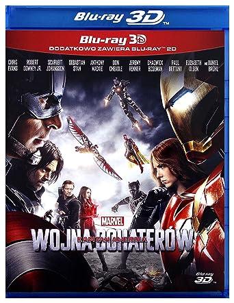 Captain America: Civil War Blu-Ray + Blu-Ray 3D Region B IMPORT No ...