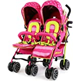 iSafe TWIN OPTIMUM Stroller - Mea LUX Design The Best Stroller In The World!