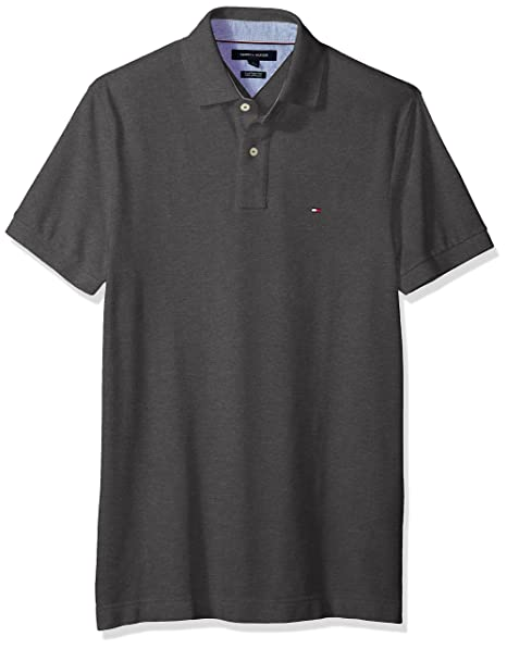 dce0796bc Tommy Hilfiger Mens Men's Polo Polos: Amazon.ca: Clothing & Accessories