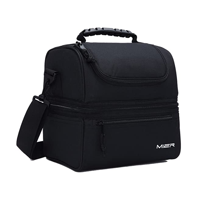 MIER Adult Lunch Box Insulated Lunch Bag Large...